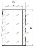 1  -  Manchons cylindriques