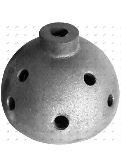 Cloches de gazage en fonte à graphite sphéroïdal.