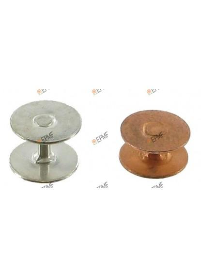 Supports Diabolo en aluminium, à plaques rondes.